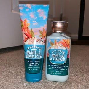 Bath & Body Works Whipped Vanilla and Spice
